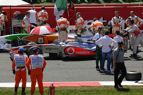 McLaren Racing team
